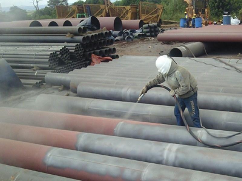 Hidrojateamento de alta pressão