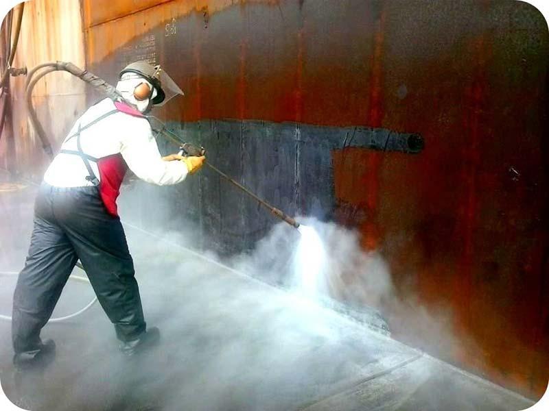Hidrojateamento de concreto